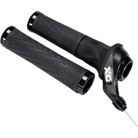 SRAM X.01 Eagle Draaischakelaar 12-speed achter Lock-On handvatten, black